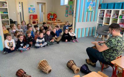 Afrykańskie bębny w naszym przedszkolu